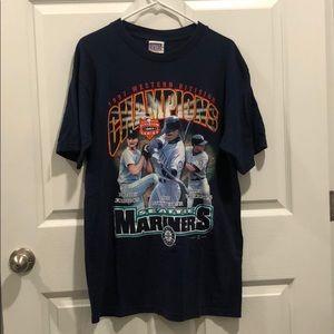 Vintage Seattle Mariners Tee MLB